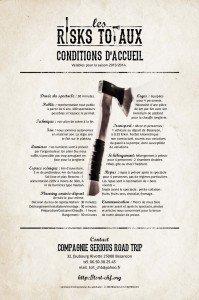 Risks Totaux Conditions d'acceuil1